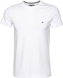T-shirt Tommy Hilfiger z krótkim rękawem z tkaniny
