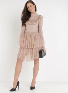Sukienka born2be z tiulu mini
