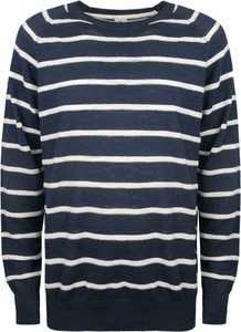 """Niebieski sweter Timberland Sweter """"mill River"""" z dzianiny"""