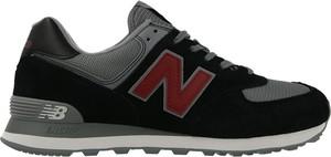 Buty sportowe New Balance sznurowane w sportowym stylu 574