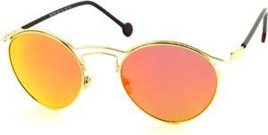 Pomarańczowe okulary damskie Birreti