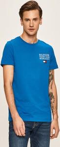T-shirt Tommy Hilfiger z krótkim rękawem z dzianiny