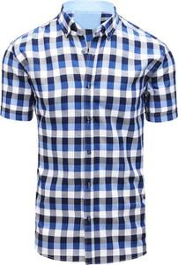 Koszula Dstreet z bawełny z klasycznym kołnierzykiem w stylu casual