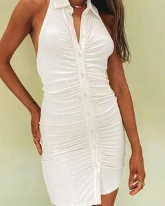 Sukienka Kendallme z dekoltem w kształcie litery v mini bez rękawów