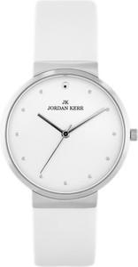 ZEGAREK DAMSKI JORDAN KERR - SS306 (zj924a) silver/white - Biały || Srebrny