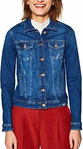 Kurtka amazon.de z jeansu w stylu casual krótka