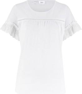 T-shirt bonprix bpc bonprix collection z krótkim rękawem z okrągłym dekoltem