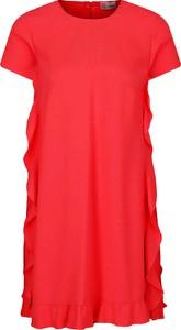 Czerwona sukienka Red Valentino mini prosta
