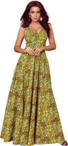 Sukienka NUMOCO maxi rozkloszowana bez rękawów
