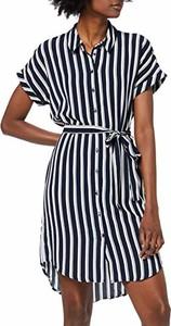 Sukienka amazon.de mini w stylu casual koszulowa