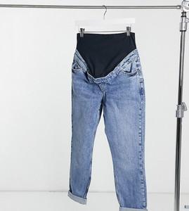 New Look Maternity – Niebieskie mom jeans