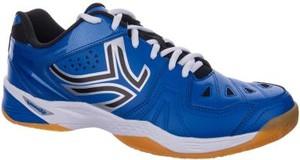 Niebieskie buty sportowe Artengo sznurowane