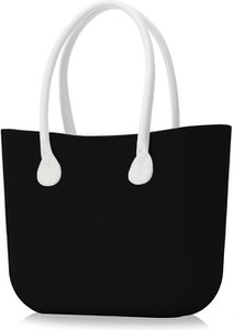 Czarna torebka O Bag do ręki w wakacyjnym stylu