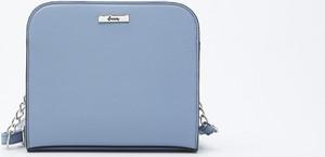 Niebieska torebka Sinsay średnia na ramię