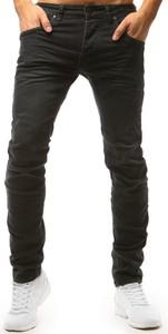 Zielone jeansy Dstreet