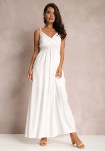 Sukienka Renee maxi z dekoltem w kształcie litery v na ramiączkach
