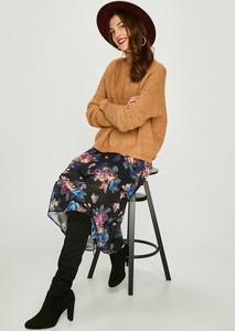 Brązowy sweter Vero Moda