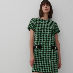 Zielona sukienka Reserved w stylu casual mini