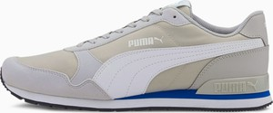 Buty sportowe Puma z płaską podeszwą ze skóry sznurowane