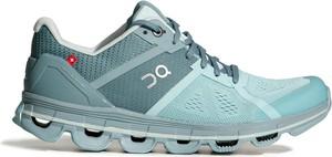 Buty sportowe On Running w sportowym stylu sznurowane z płaską podeszwą