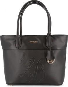 Brązowa torebka Laura Biagiotti w stylu glamour
