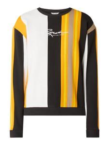 Pomarańczowa bluza Review z bawełny