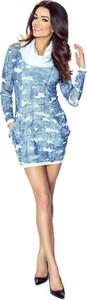 Sukienka N/A mini z długim rękawem