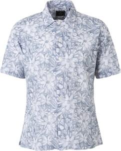Koszula Santa Eulalia z krótkim rękawem z klasycznym kołnierzykiem