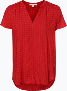 Czerwona bluzka Esprit