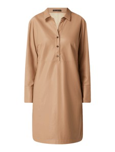 Brązowa sukienka Betty Barclay mini koszulowa w stylu casual