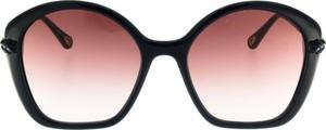 Niebieskie okulary damskie Chloe