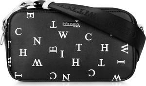 Czarna torebka Wittchen ze skóry ekologicznej w młodzieżowym stylu