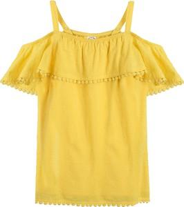 Bluzka dziecięca Cool Club z krótkim rękawem w groszki dla dziewczynek