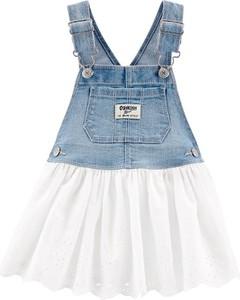 Sukienka dziewczęca OshKosh z jeansu