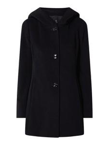 Czarny płaszcz Gil Bret z kaszmiru