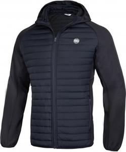 Czarna kurtka Pit Bull West Coast w młodzieżowym stylu krótka
