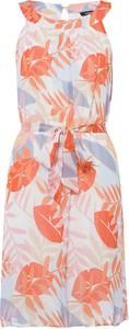 Sukienka More & More z okrągłym dekoltem z tkaniny w stylu casual