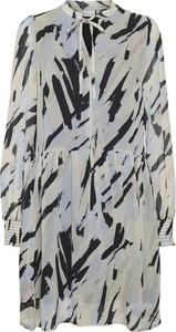 Sukienka InWear z dekoltem w kształcie litery v z długim rękawem mini
