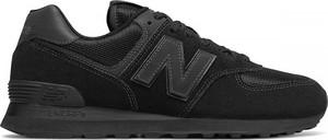 Czerwone buty sportowe New Balance 574