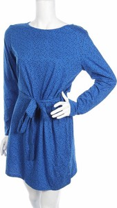 Niebieska sukienka People Tree mini