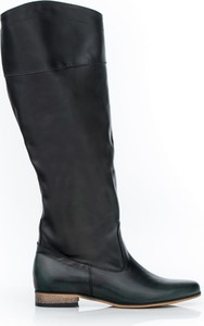 Kozaki Zapato z płaską podeszwą w stylu klasycznym