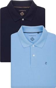 Koszulka polo LANCERTO z tkaniny