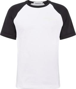 T-shirt Calvin Klein z dżerseju