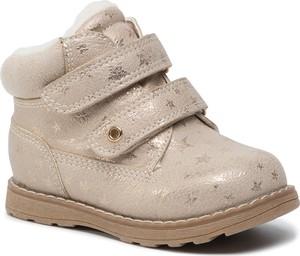 Buty dziecięce zimowe Nelli Blu na rzepy