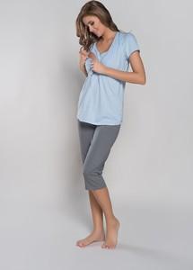 Niebieska piżama Italian Fashion
