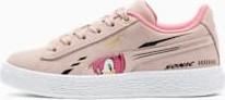 Buty sportowe dziecięce Puma sznurowane z zamszu