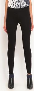 Czarne legginsy Top Secret w stylu casual