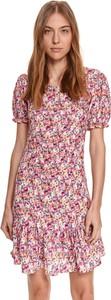 Sukienka Top Secret z dekoltem w kształcie litery v mini