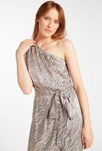 Sukienka Monnari bez rękawów z okrągłym dekoltem