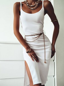 Sukienka Pakuten mini w stylu casual na ramiączkach
